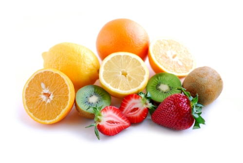 Damaging effects, if any, of fructose in these fruits may be mitigated by the fiber