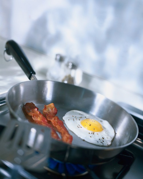 Even if you eat lots of eggs, most of your cholesterol is made by your liver. That's where statin drugs work.