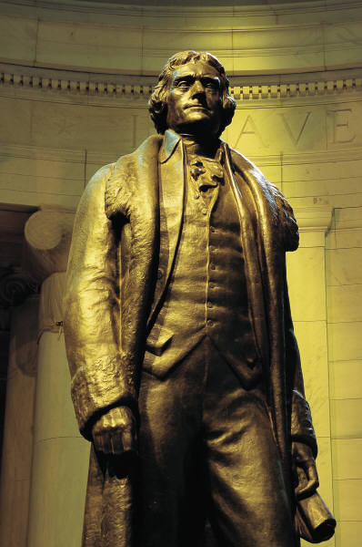 vision achieved by jefferson
