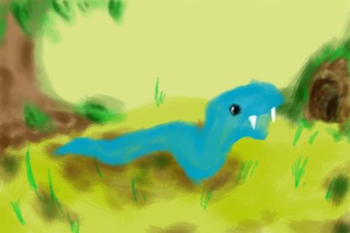 Impressionist snake