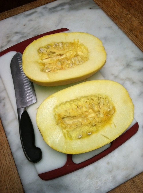 Spaghetti squash, an under-utilized vegetable