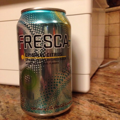 I enjoy an aspartame-flavored Fresca now and then